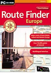 Route Finder Europe – Third Edition